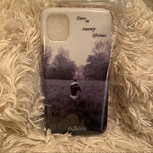 Rare Taylor Swift  folklore phone case iPhone 11